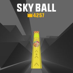 OMG! I scored 4257 points in #SkyBall! Try to beat my score! http://itunes.apple.com/app/id1347934041