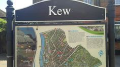 Kew Gardens London Underground and London Overground Station in Kew, Greater London