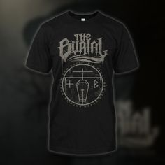 "The Burial ""Final Breath"" black t-shirt *Final Print* 