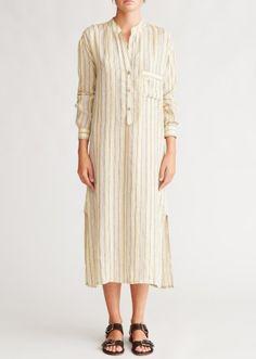 83e6cbb16c CARAMEL, Stripe Woman Kaftan, Multi Stripe Hippie Chick, Boho Hippie,  Ladies Dress