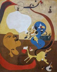 Dutch Interior II, Joan Miro