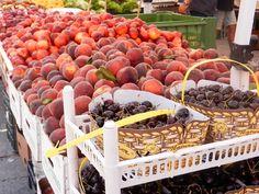 Umbertide market every Wednesday