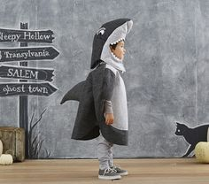Toddler Shark Costume | Pottery Barn Kids …