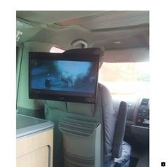 Gallant 'Lift Off' TV Bracket for VW / California / Caravelle / Transporter T5 Camper, Vw T5, Tv Bracket, Mounting Brackets, T6 California, Swivel Tv Stand, Lift Off, Mounted Tv, Campervan