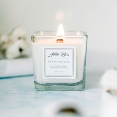 Scented Candles, Candle Jars, Cotton Blossom, Beautiful Candles, Breath In Breath Out, Fragrance Oil, The Fresh, Calming, Clean House