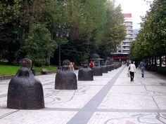 Estatuas de Oviedo en el Parque