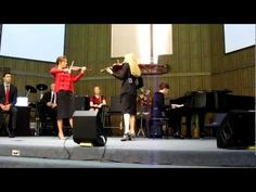 The Collingsworth Family - Brooklyn & Courtney Violin Duet