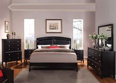 Angelina Bedroom Collection - Value City Furniture-Queen Bed ...