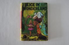 A personal favorite from my Etsy shop https://www.etsy.com/listing/220559711/alice-in-wonderland-by-lewis-carroll