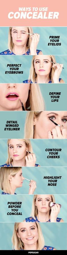 Pin for Later: These Are the 17 Best Beauty Trends That Ruled in 2015 Concealer Tips and Tricks