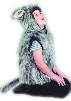 Wolf Costume, Child, Animal Fancy Dress - General at Escapade™ UK