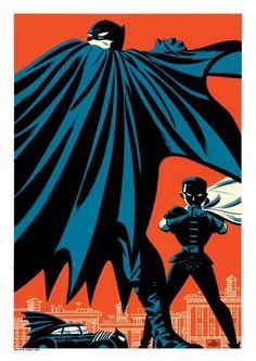 Batman and Robin by Michael Cho / Twitter
