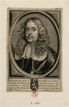 Alexandre I, Duc-Prince de Bournonville, Comte de Hénin-Liétard (1585 - 1656), Prince du Saint-Empire.