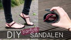 DIY Huaraches Sandalen - Barfußschuhe