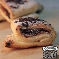 ¿Te apetecen unas napolitanas de chocolate? Entra en Cocina Sin para ver esta video receta y muchísimas más. más.