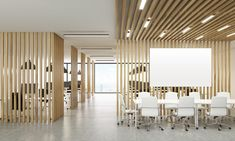 Solve your layout issues with these office partition ideas. From noise control to privacy, from open concept to cubicles, facility managers can get creative! Exterior Design, Interior And Exterior, Office Dividers, Sound Absorbing, Open Office, Acoustic Panels, Workplace Design, Modular Design, Home Office Furniture