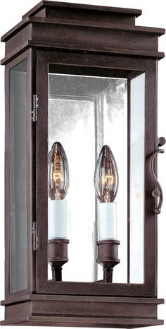 """$340 sale - Height: 16"""" Width: 7"""" View the Troy Lighting B2971 Vintage 2 Light ADA Compliant Outdoor Wall Sconce…"""