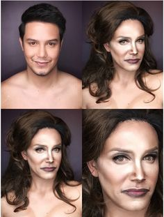 This guy contoured himself to look like Caitlyn Jenner!