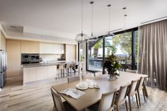 Create light filled living spaces with the use of neutral finishes.  Extensive renovation of a home recently completed by Urbane Projects, Perth.