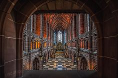 Lady Chapel, Liverpool Anglican cathedral. It took 74 years to complete Liverpool Anglican Cathedral. The Lady Chapel was first part of the building to be completed and was consecrated in 1910.
