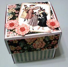 Victorian Explosion Box Card - Scrapbook.com