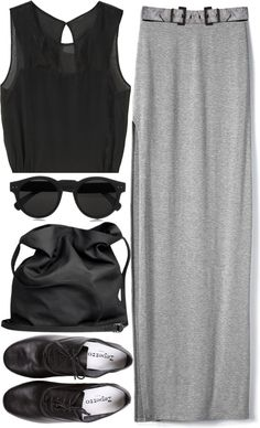 """""""Crowded streets"""" by maartinavg ❤ liked on Polyvore"""