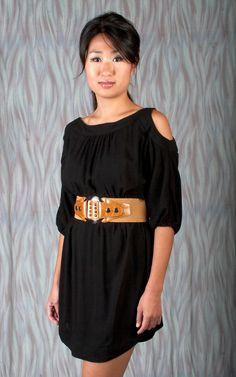 Goga - Picky Girl Black Dress - $96