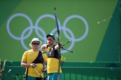 Day 1: Archery Men's Team - Alec Potts of Australia