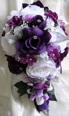 Encouraged to be able to our website, with this moment I will teach you about Plum Wedding Centerpieces DIY. 100 diy wedding centerpieces on a budget. [tps header]create the wedding of your dreams and. Artificial Wedding Bouquets, Purple Wedding Bouquets, Bride Bouquets, Bridal Flowers, Plum Wedding Flowers, Boquet, Bridesmaid Bouquets, Bouquet En Cascade, Cascading Bouquets
