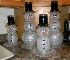 Great snowman crafting!
