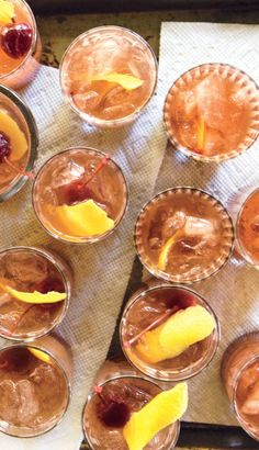 Backwoods Bourbon Punch recipe: Yep. You want this cocktail.
