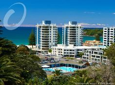 Oceanside Resort & Twin Towers Mount Maunganui Located across the road from Mount Maunganui Beach, the 3-storey Oceanside Resort features 2 heated swimming pools, a sauna and a fitness centre. Each room has a private balcony or patio with mountain or garden views.