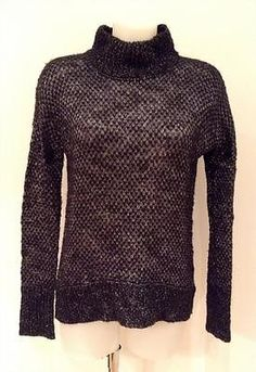 Theory Blue and Grey Textured Sweater - Size: Medium - RRP: £245.00 in Clothes, Shoes & Accessories | eBay