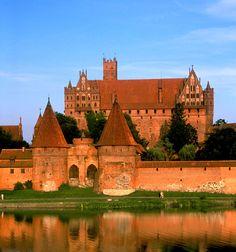Teutonic Knights Castle (UNESCO), Malbork, Poland                                                                  home sweet home <3