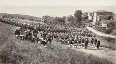1878 Osmanlı Rus harbi sırasında Kumburgaz yakınlarına konuşlanmış Rus ordusu
