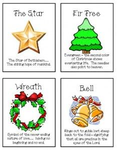8 Symbols Of Christmas Christmas Neighbor Neighbor Christmas Gifts Christmas Lesson