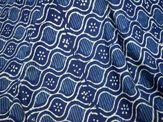 Items similar to Indian Fabrics Block Print Fabric Hand Printed Indigo Fabric for Quilting Cotton Fabric Hand Stamped Indigo Fabric Sold by Yard on Etsy