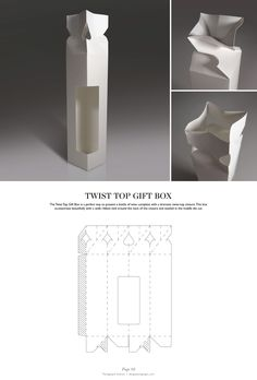 Twist Top Gift Box - Packaging & Dielines: The Designer's Book of Packaging…