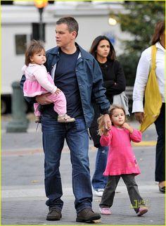 Celebrity Dad: Matt Damon