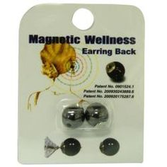 Magnetic Earring Backs (Pack of 3)