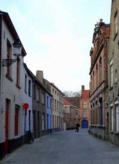 Viaje Marzo 2012.  Callecita en Brugge / Brujas