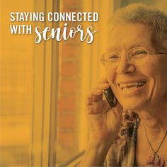 If you have any loved ones or know of anyone elderly or vulnerable who could use some human connection during this time, we have some ideas to help you out! It doesn't take much time to check in on someone and there are plenty of ways to do it.