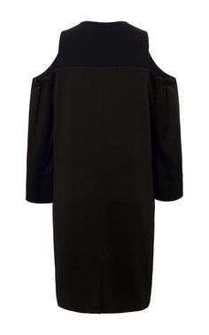 Double Faced Satin Cassels Coat by ROLAND MOURET for Preorder on Moda Operandi