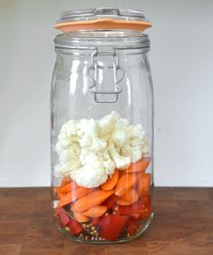 Recipe: Lacto-Fermented Mixed Pickles