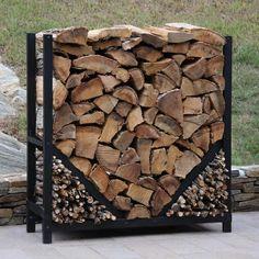 Indoor Firewood Rack, Firewood Logs, Firewood Stand, Wood Storage Rack, Log Store, Wood Shed, Deco Originale, Outdoor Storage, Indoor Log Storage