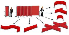 Room Dividers & Movable Walls By Screenflex Portable Partitions