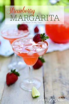 Strawberry Margarita by Place Of My Taste