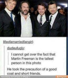 Sherlock and LOTR/Hobbit? OMG perfection <3