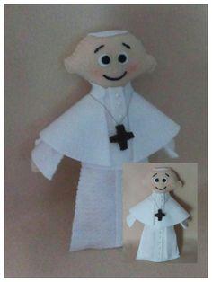 Papa Francisco em Feltro feitas especialmente para você. Mais de 114 Papa Francisco em Feltro: papa, fantoches evangelicos como fazer, papa joao paulo, papa joao paulo ii, fantoche de espuma