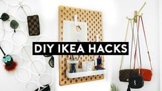 NASTAZSA These 10 DIY Ikea Hacks are great room decor and organization ideas that are budget friendly. These cheap and simple diys and hacks will help you. Ikea Hacks, Ikea Furniture Hacks, Furniture Stores Nyc, Office Furniture, Furniture Online, Furniture Ads, Classic Furniture, Luxury Furniture, Modern Furniture